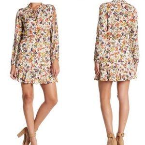 Jessica Simpson Cold Shoulder Boho Meadow Dress